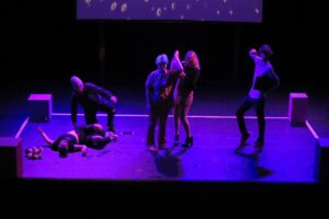 Banbury and Bicester College performing arts students perform Find A Partner at North Wall Arts Centre in Oxford